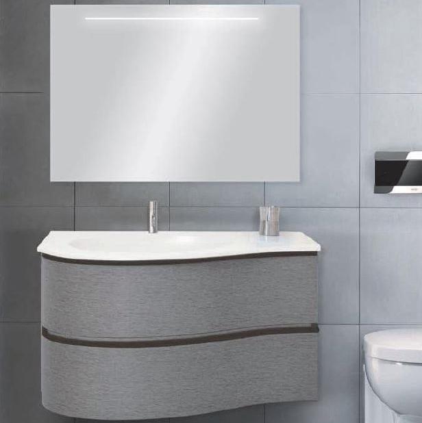 Mobile da bagno circle 90 ceramica del turano - Mobili da bagno con lavabo ...