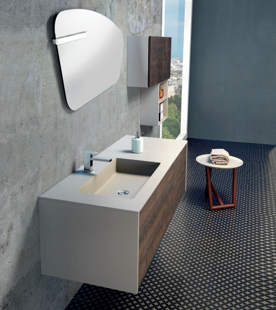 Mobile da Bagno MOBIL-V54 – Ceramica del Turano