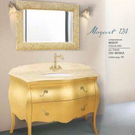 Composizione Mozart 124 Foglia Oro