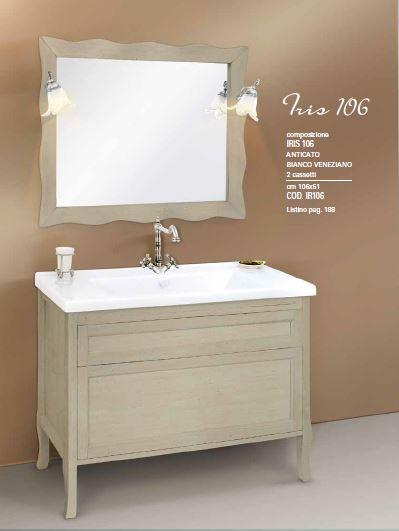 iris 106 anticato bianco veneziano